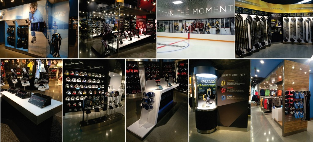 Bauer Hockey - Own the moment store 3
